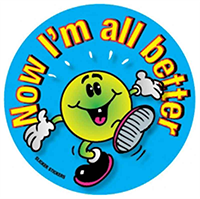 #006 Now I'm All Better Stickers