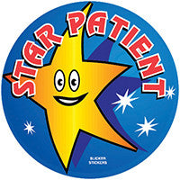 #060 Star Patient Stickers