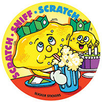 #951 Lemon Scratch n Sniff Smelly