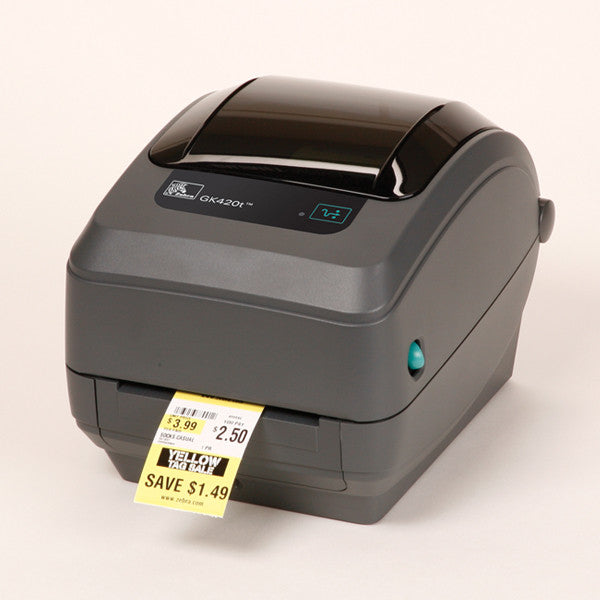 Zebra GK420 thermal transfer printer- usb