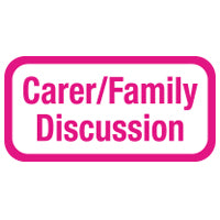 Carer/Family Discussion