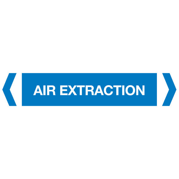 Air Extraction labels