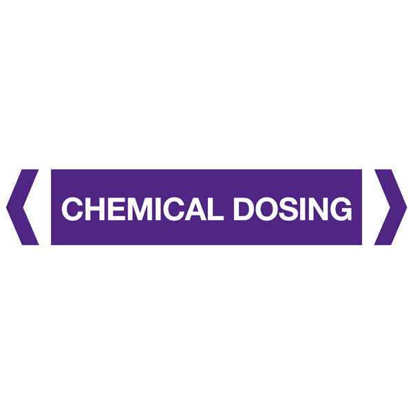 Chemical Dosing labels