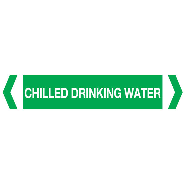 Chilled Drinking Water labels