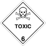 Class 6.1 Toxic labels