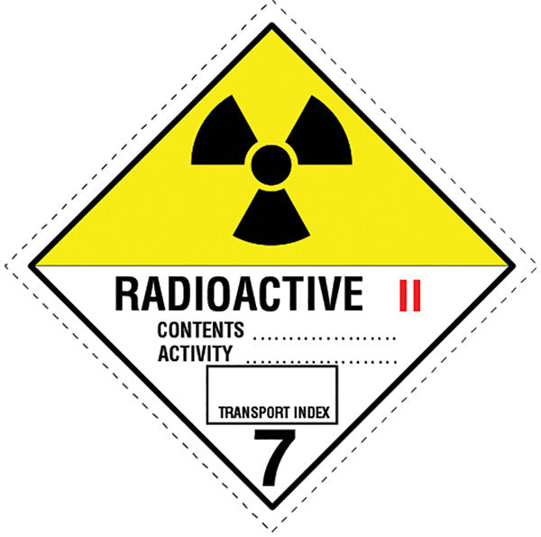 Class 7.0b Radioactive labels