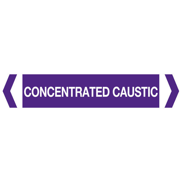 Concentrated Caustic labels