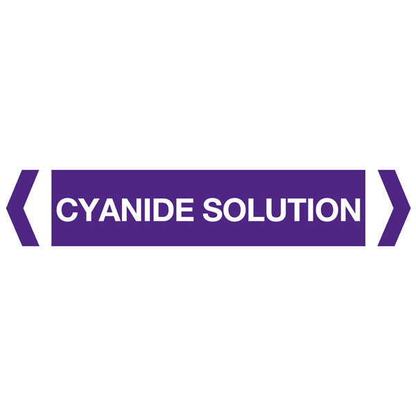 Cyanide Solution labels