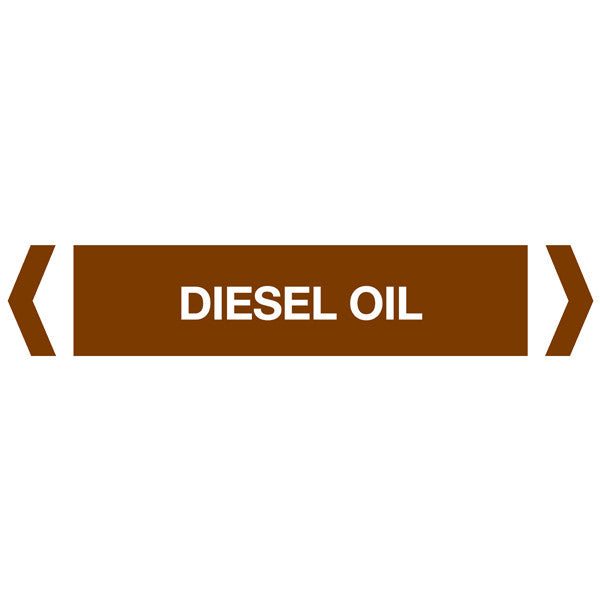 Diesel Oil labels