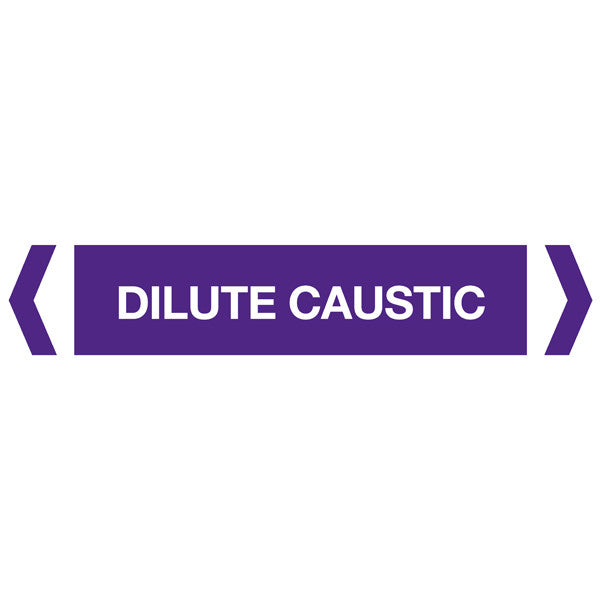 Dilute Caustic labels