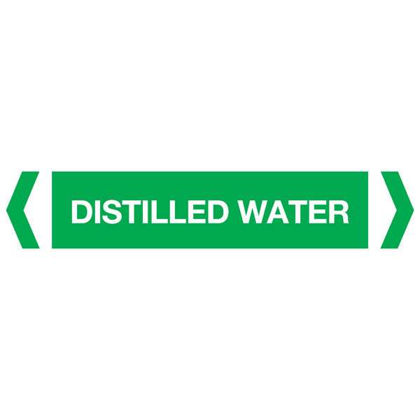 Distilled Water labels