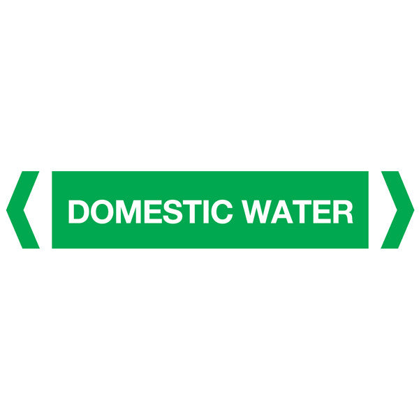 Domestic Water labels