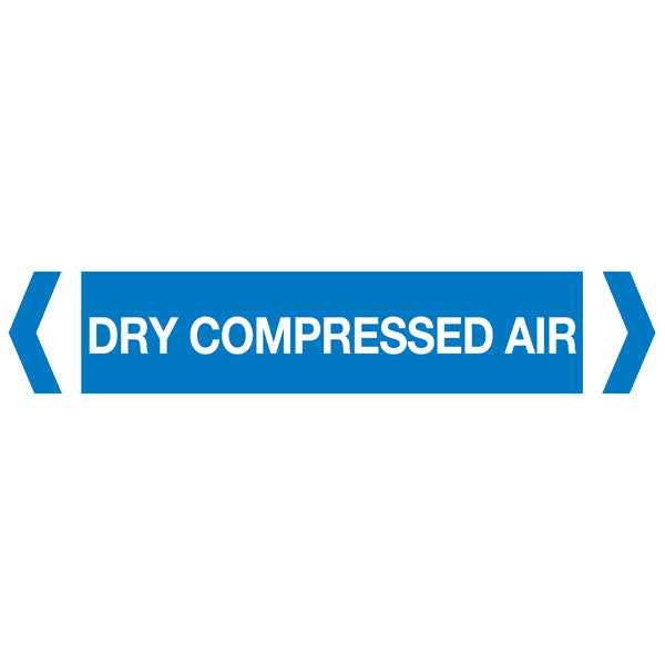 Dry Compressed Air labels