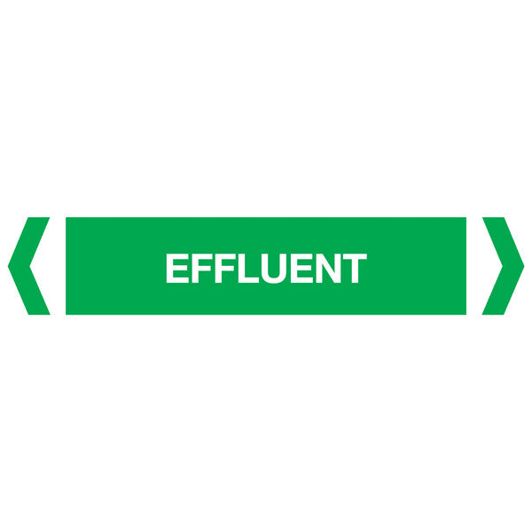 Effluent labels