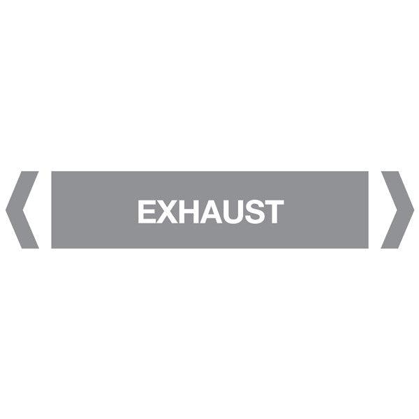Exhaust labels