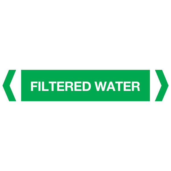 Filtered Water labels