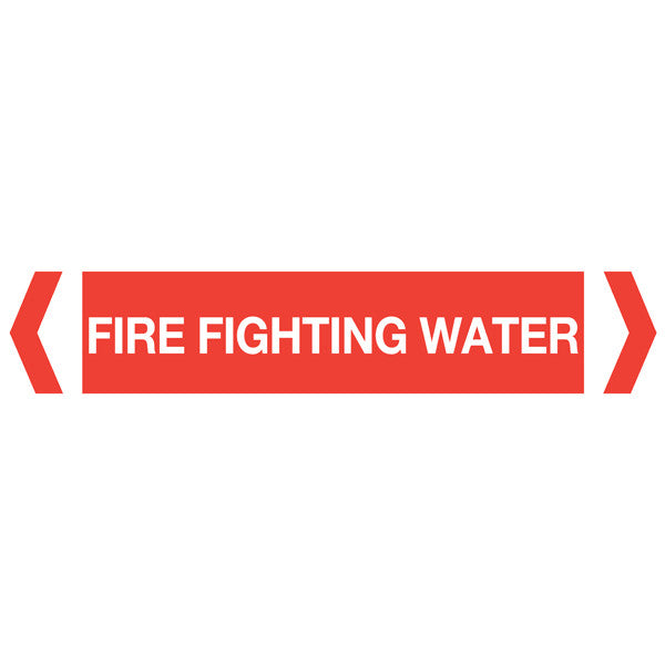 FireFighting Water labels