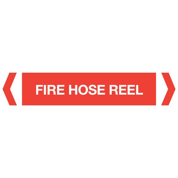 Fire Hose Reel labels