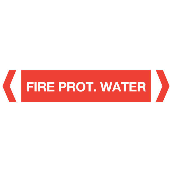 Fire Prot Water labels