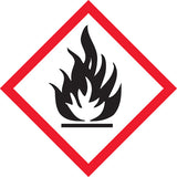 GHS Flammable labels