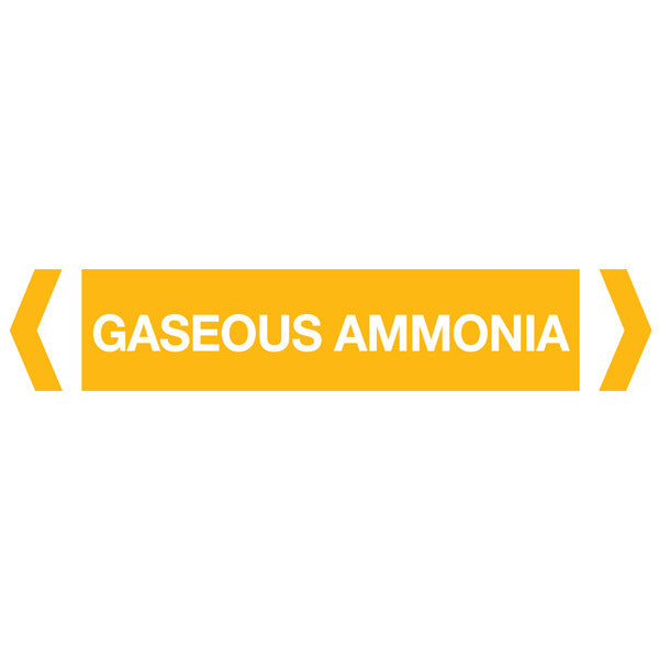Gaseous Ammonia labels