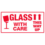 GLASS WITH CARE - THIS WAY UP