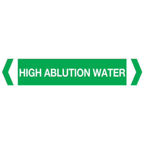 High Ablution Water labels