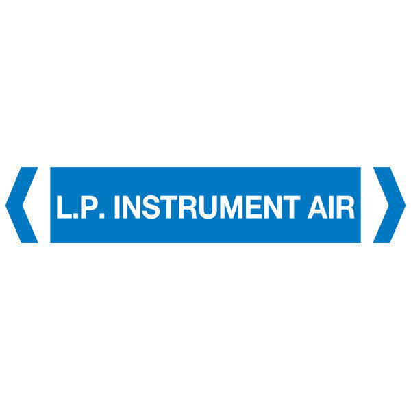 LP Instrument Air labels