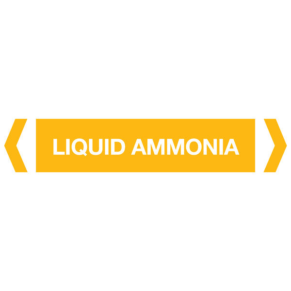 Liquid Ammonia labels