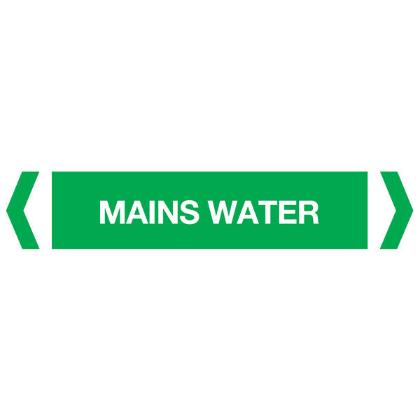 Mains Water labels