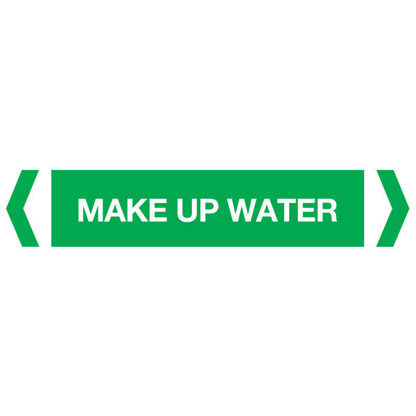 Make Up Water labels
