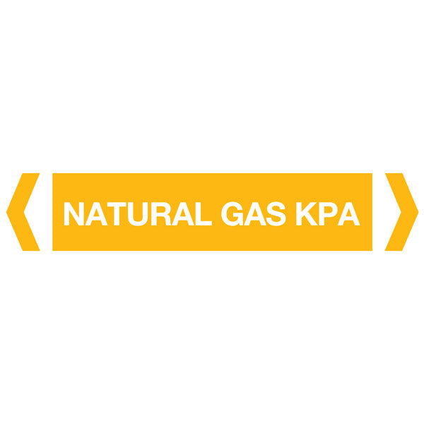 Natural Gas Kpa labels
