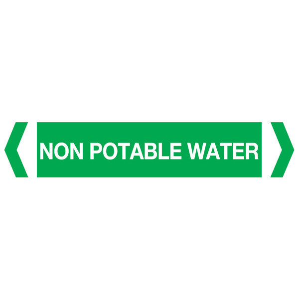 Non Potable Water labels