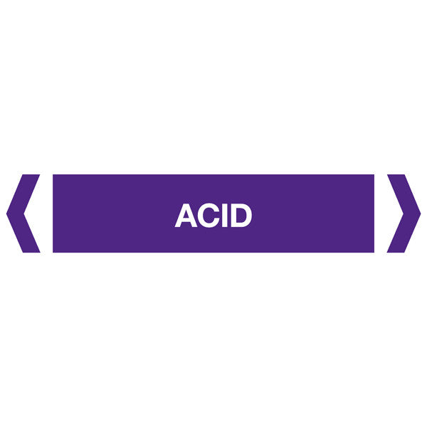 Acid labels