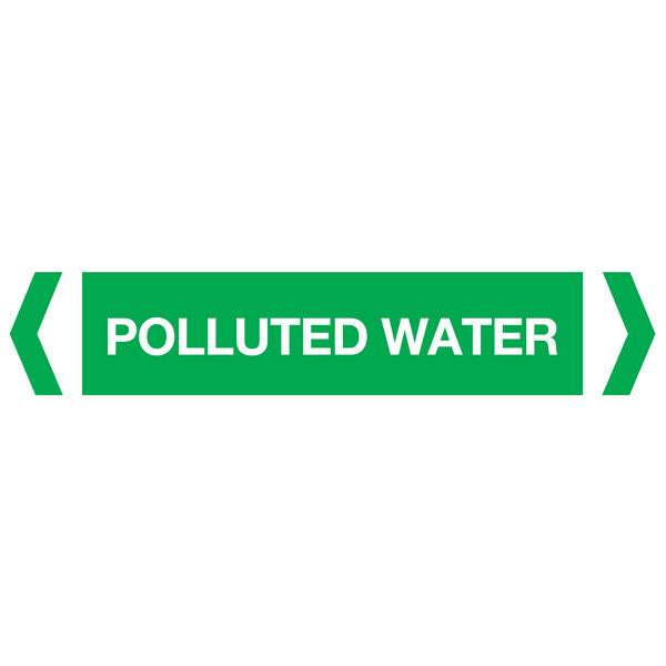 Polluted Water labels