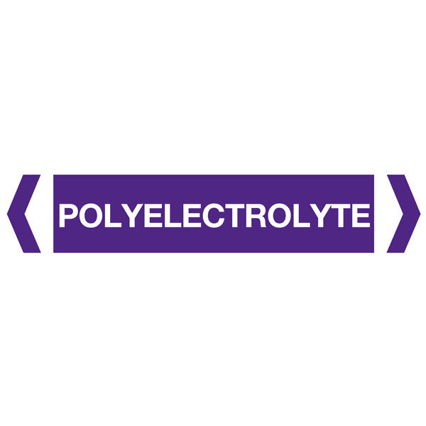 Polyelectrolyte labels