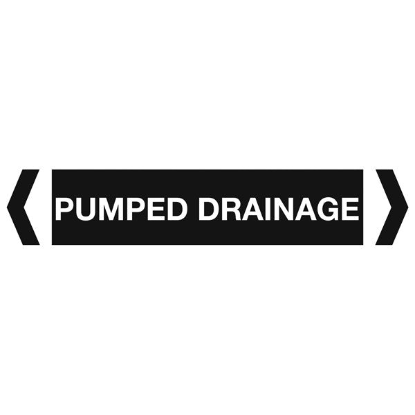 Pumped Drainage labels