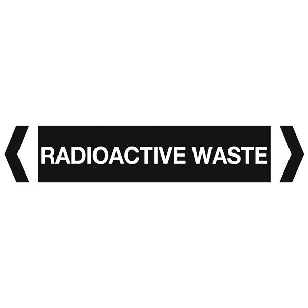 Radioactive Waste labels