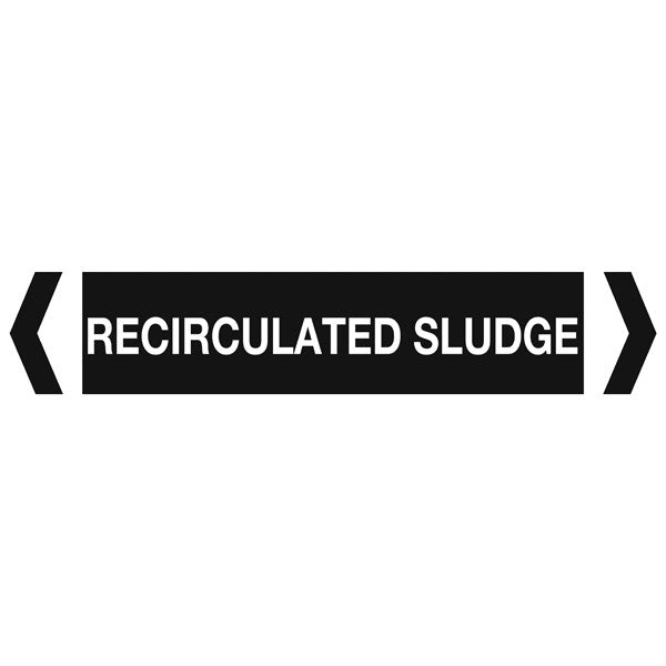 Recirculated Sludge labels