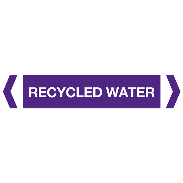 Recycled Water labels
