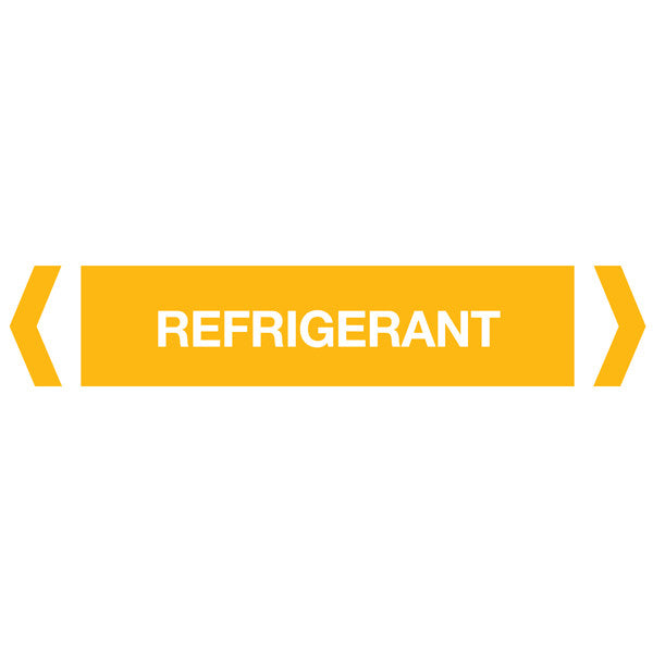 Refrigerant labels
