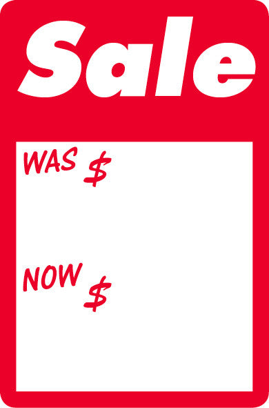 #2509 - Sale - Was/Now