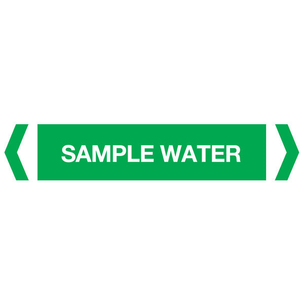 Sample Water labels