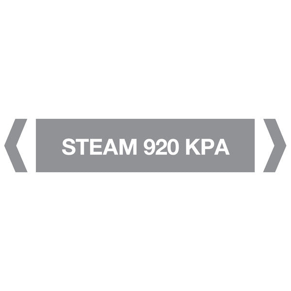 Steam 920Kpa labels