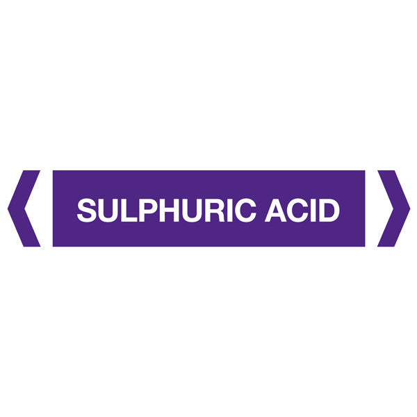 Sulphuric Acid labels