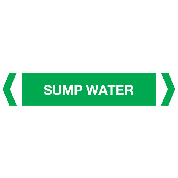 Sump Water labels
