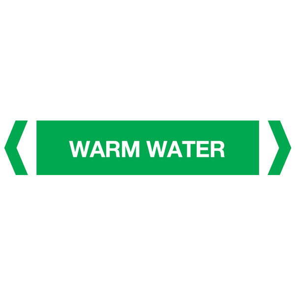 Warm Water labels