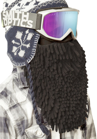 Beardski Midnight Rasta Skimask