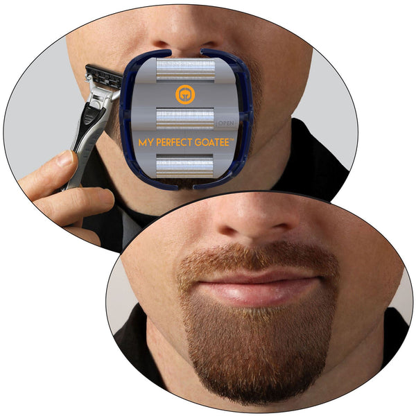My Perfect Goatee - Men's Shaving Template