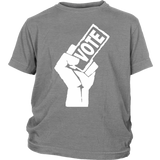 "Youth & Adult Tee ""My Vote Matters"" (white print)"